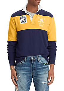 Classic Fit Jersey Rugby Shirt