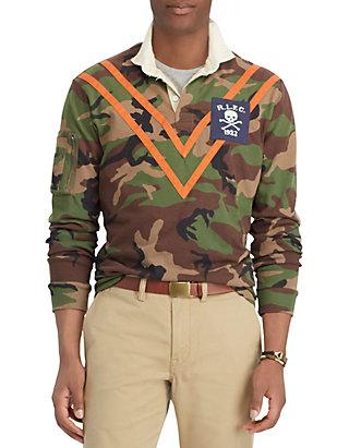 125df3bfc Polo Ralph Lauren. Polo Ralph Lauren Classic Fit Camo Rugby Shirt
