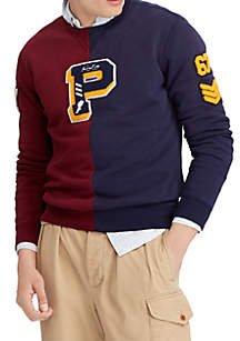 Cotton Blend Fleece Sweatshirt