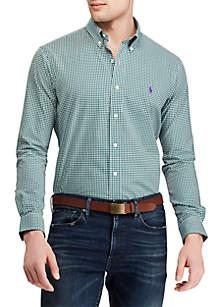 Classic Fit Stretch Poplin Shirt