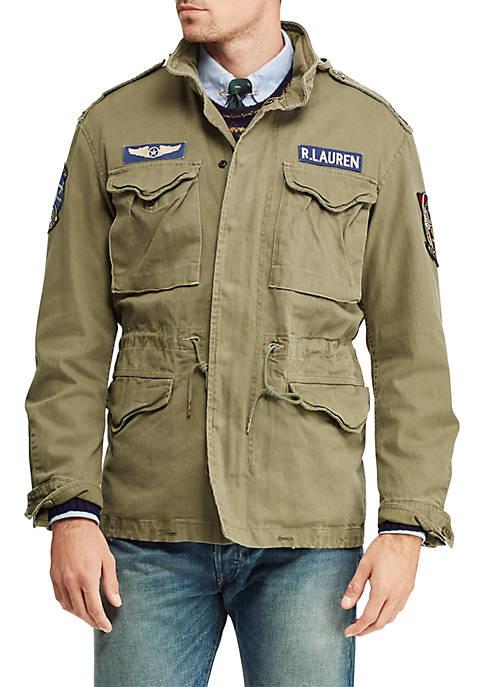 Mens Cotton Twill Field Jacket