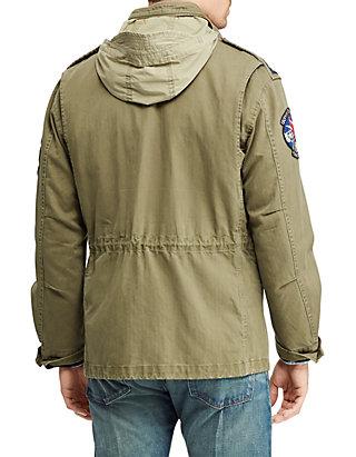 Cotton Jacket Twill Men's Field HWIED9eY2