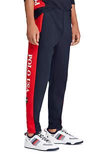 Double-Knit Drawstring Pant