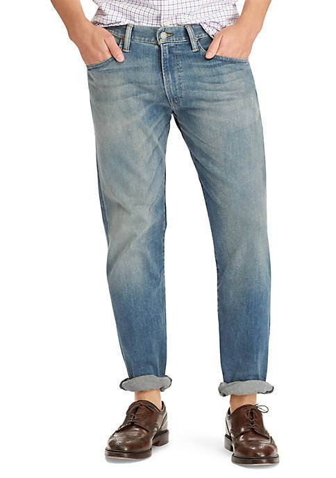 Polo Ralph Lauren Hampton Relaxed Straight Stretch Jean
