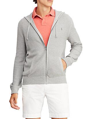 56db5d09b3b Polo Ralph Lauren. Polo Ralph Lauren Cotton Full-Zip Sweater