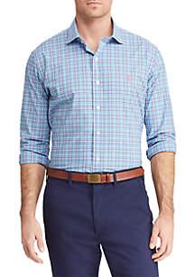 Polo Ralph Lauren Classic Fit Plaid Poplin Shirt