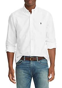 GD Oxford Long Sleeve Weekend Casual Woven Shirt