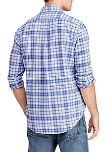 amp; Oxford Fit Polo Lauren Ralph Big Classic Belk Shirt Plaid Tall 88H6tq