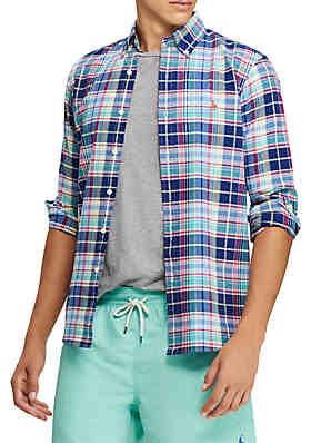 108dac7349d Polo Ralph Lauren Long Sleeve Oxford Shirt ...