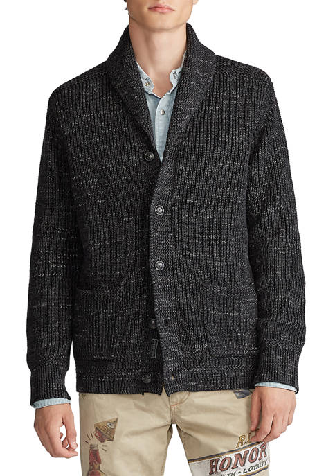 Polo Ralph Lauren Cotton Shawl Collar Cardigan