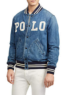 Varsity Inspired Denim Jacket
