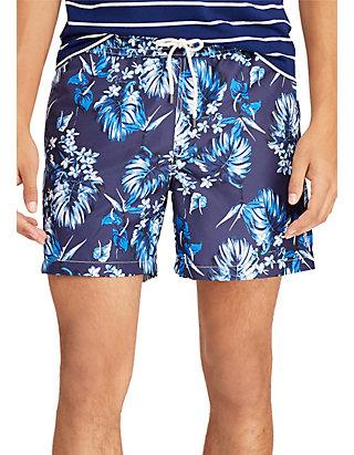 d7486f7701 Polo Ralph Lauren. Polo Ralph Lauren 5.5-Inch Traveler Swim Trunk