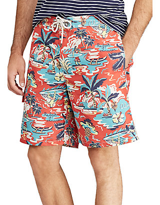 6ac928cb61 Polo Ralph Lauren. Polo Ralph Lauren Kailua Tropical Swim Trunks