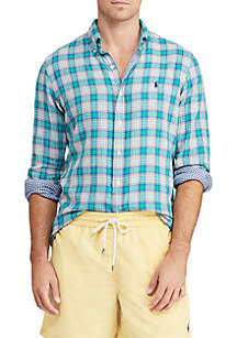 Classic Fit Double-Faced Shirt