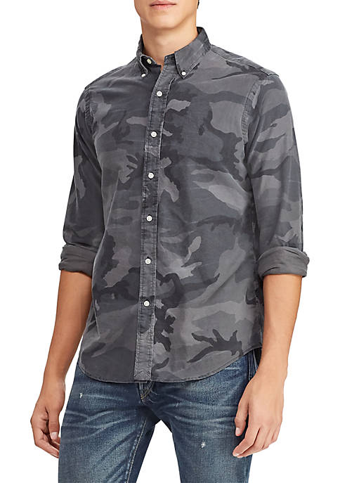 Polo Ralph Lauren Classic Fit Camo Oxford Shirt