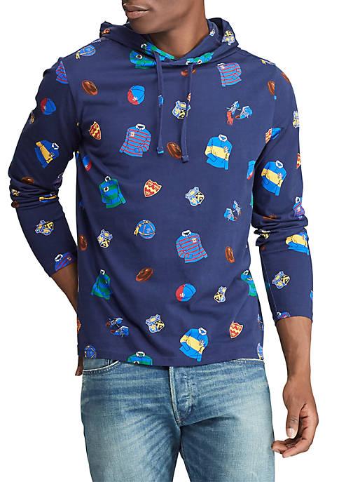 Polo Ralph Lauren Cotton Jersey Hooded T Shirt