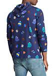 Cotton Jersey Hooded T Shirt