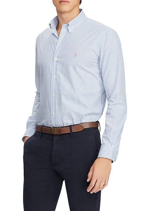 Slim Fit Gingham Cotton Shirt