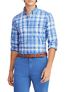 Polo Ralph Lauren Slim Fit Gingham Cotton Shirt