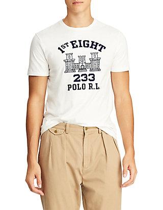 c8c4e52a Polo Ralph Lauren. Polo Ralph Lauren Custom Slim Fit Cotton T-Shirt