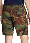 Classic Fit Camo Cotton Short
