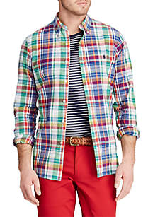 Polo Ralph Lauren Classic Fit Madras Shirt