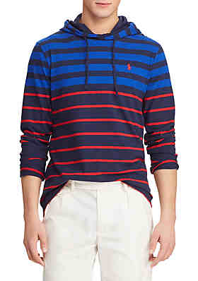 96027a86802d Polo Ralph Lauren Cotton Jersey Hooded T-Shirt ...