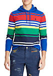 Striped Jersey Hooded Tee