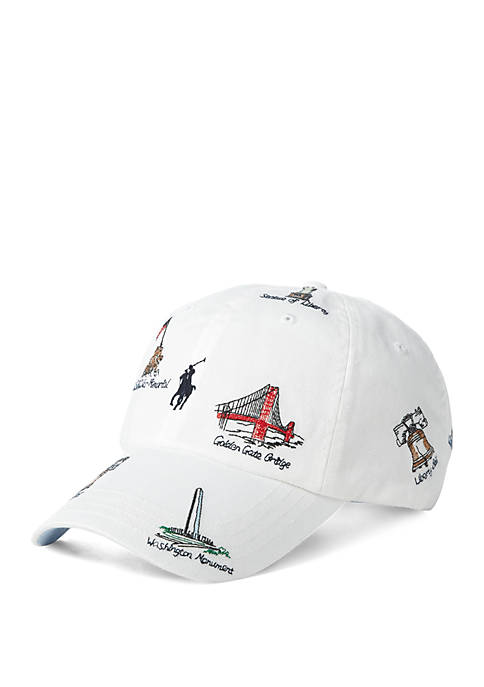 Landmark Embroidery Cap