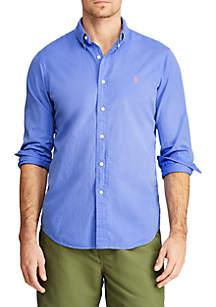 Polo Ralph Lauren Classic Fit Cotton Twill Button Down