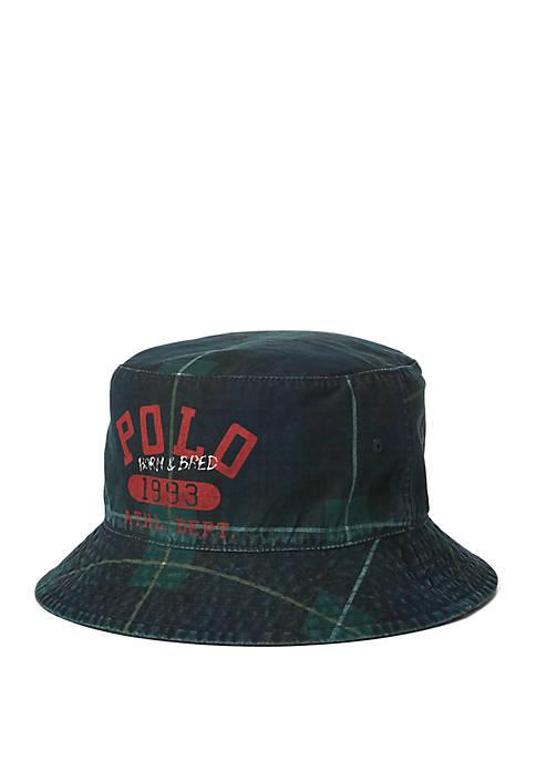cb8abdd293b Polo Ralph Lauren Tartan Bucket Hat