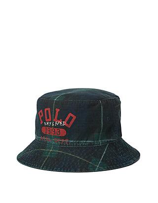 f857af2d5439e Polo Ralph Lauren Tartan Bucket Hat
