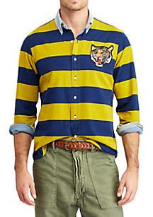 Polo Ralph Lauren Classic Fit Tiger Patch Shirt