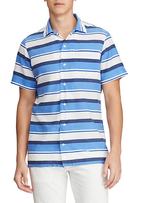 Polo Ralph Lauren Classic Fit Linen-Blend Shirt