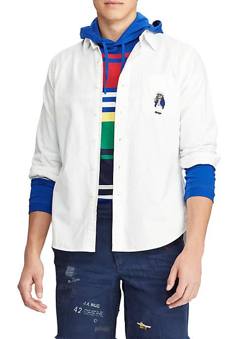 Classic Fit Bear Oxford Shirt