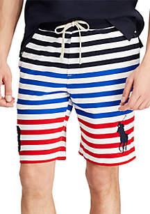 Polo Ralph Lauren Striped Cotton Mesh Short