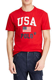 Polo Ralph Lauren Classic Fit Cotton Graphic Tee