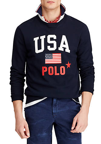 b952f0a9ebea Polo Ralph Lauren. Polo Ralph Lauren Fleece Graphic Sweatshirt
