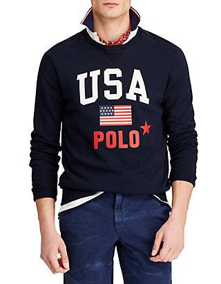 1677cd92 Polo Ralph Lauren. Polo Ralph Lauren Fleece Graphic Sweatshirt