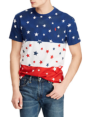 c7a12aef Polo Ralph Lauren. Polo Ralph Lauren Classic Fit Cotton Graphic Tee