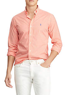 ab21dced5 ... Polo Ralph Lauren Classic Fit Gingham Shirt