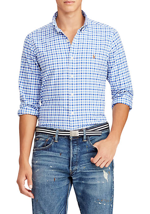 Polo Ralph Lauren Classic Fit Gingham Cotton Shirt