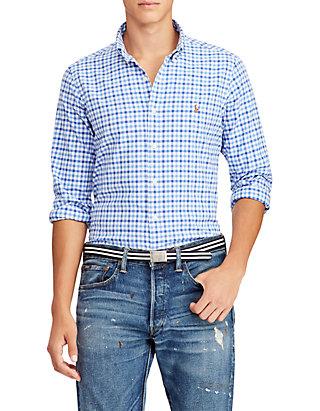 cb602a20a Polo Ralph Lauren. Polo Ralph Lauren Classic Fit Gingham Cotton Shirt