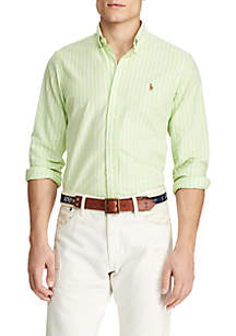 Polo Ralph Lauren Slim Fit Striped Oxford Shirt