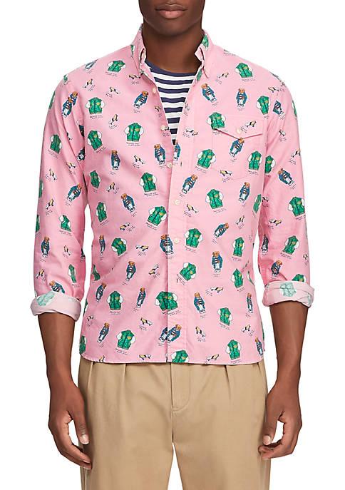 Polo Ralph Lauren Classic Fit Bear Shirt