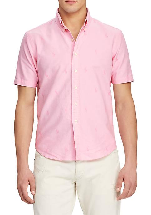 Classic Fit Pony Oxford Shirt