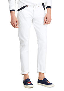 Polo Ralph Lauren Sullivan Slim Distressed Jeans