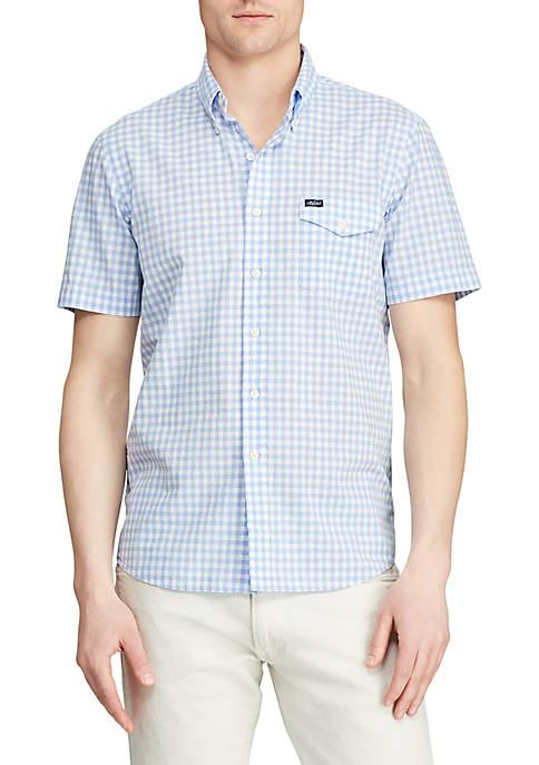 Polo Ralph Lauren Classic Fit Gingham Poplin Shirt