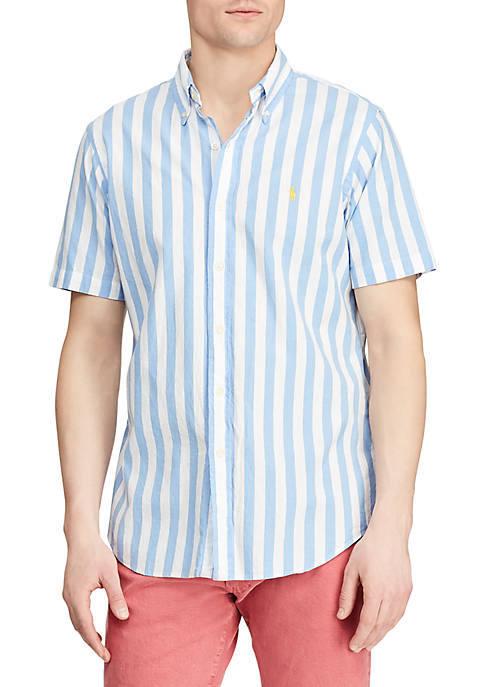Polo Ralph Lauren Classic Fit Striped Cotton Shirt