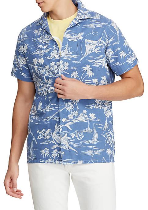 Polo Ralph Lauren Classic Fit Marlin Camp Shirt